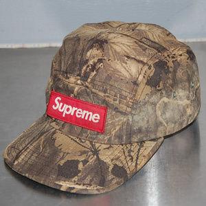 vintage supreme camouflage cap